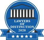 Lawyers of Distinction - 2020